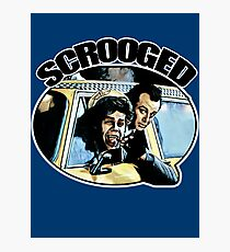 Scrooged Photographic Print