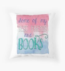 My Best Friends are Books - Aren't Yours? Floor Pillow