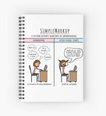 Scheduling Woes Spiral Notebook