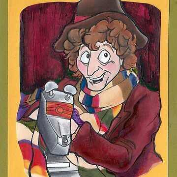 Fourth Doctor and K-9 Doctor Who by AlexBowman314