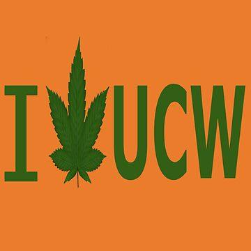 I Love UCW by Ganjastan