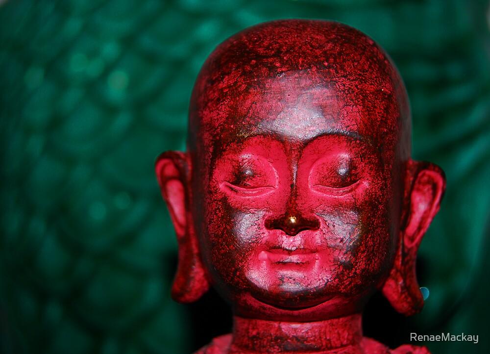 Buddha Red by RenaeMackay