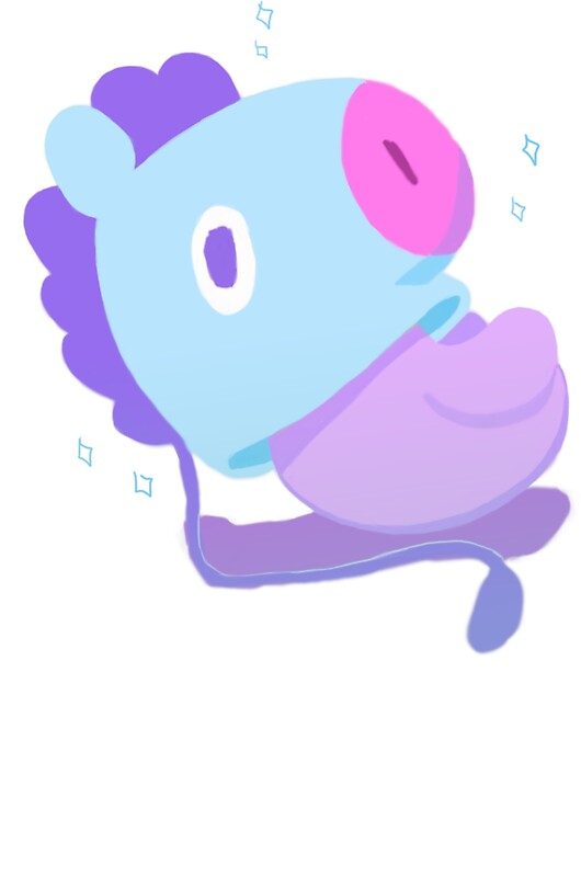 Quot Bt21 Mang Quot Stickers By Marcoalrose Redbubble