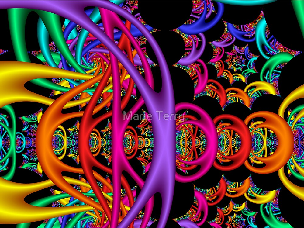 Jelly Bracelet Knots by Marie Terry