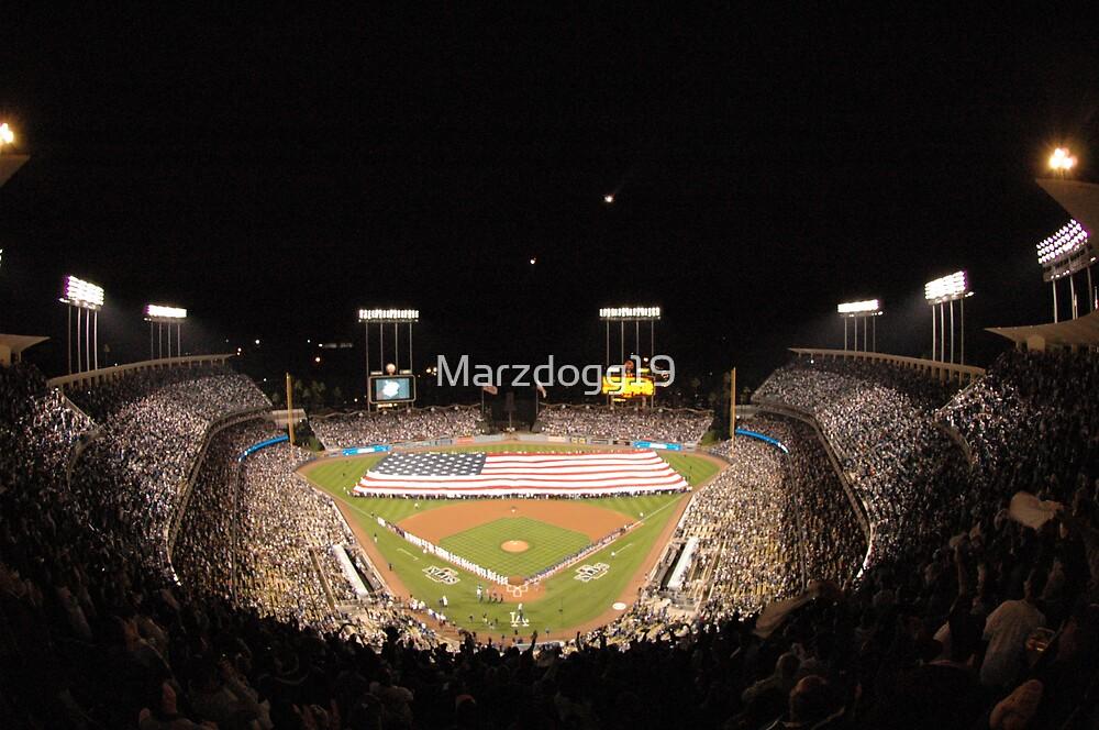Dodger Stadium by Marzdogg19