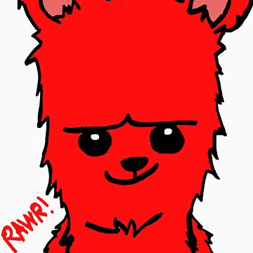 BEARBEAR (red) by MIGHTYFINE