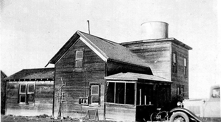 My family's old Tank House 1941 by Edward Henzi
