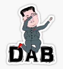 Kim Jong Un Dabbing Sticker