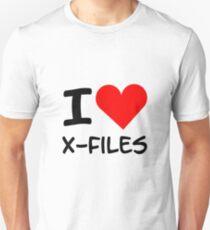 I Heart X-Files Unisex T-Shirt