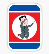 North Korea Dabbing Sticker