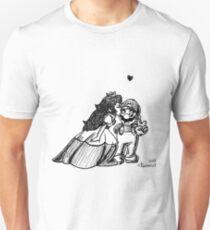 Peach and Mario Valentines T-Shirt