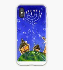 Vinilo o funda para iPhone Hanukkah Batik