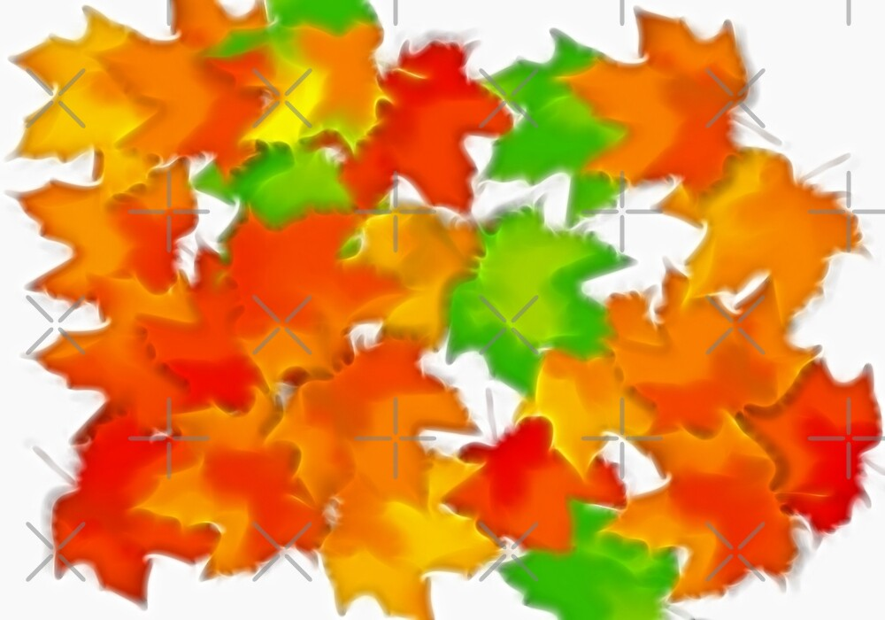 Leaves by Angie Seiffert
