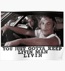 Dazed and Confused - Livin' Poster