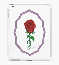 Beauty And The Beast Rose IPad Case Skin