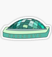 Sadsueto Library Sticker