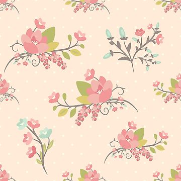 Beauty seamless floral pattern by AnaMOMarques