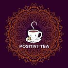 Cute Tea Lover Mandala - Positivi-TEA by jitterfly