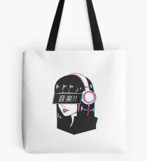 Music! - Sad Japanese Aesthetic Tote Bag