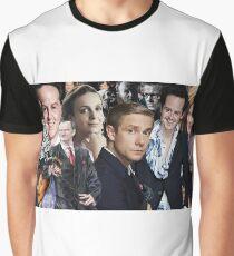 Sherlock mashup - Sherlock BBC Graphic T-Shirt