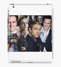 Sherlock mashup - Sherlock BBC iPad Case/Skin