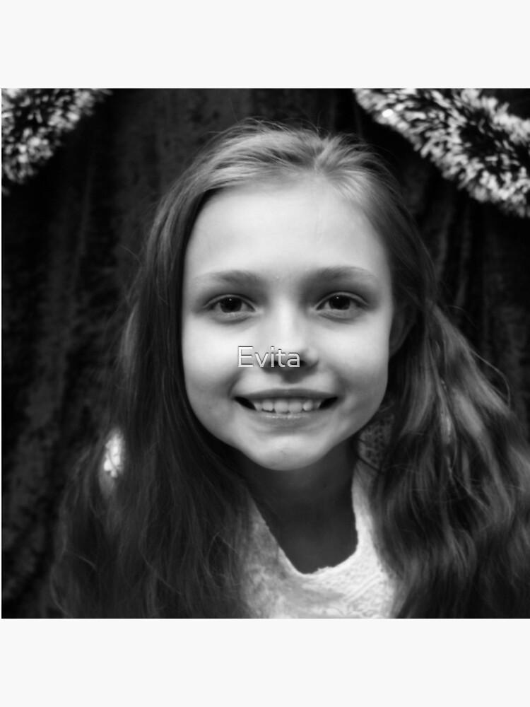 Hannahs Porträt von Evita