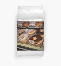 Texas size donuts..... Duvet Cover