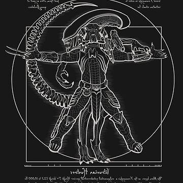 Vitruvian Hunters (Negative Text) by SamielLair
