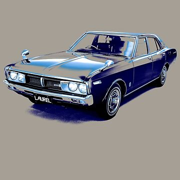 Nissan Laurel Sedan (C130) 1974–1977 _tone02 by DatsunStyle