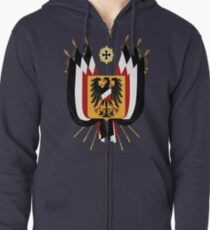Imperial Germany Zipped Hoodie