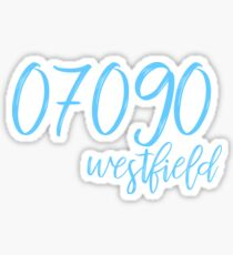Westfield-Postleitzahl-Aufkleber Sticker