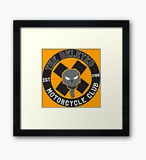 Angrybot: The Deleted Motorcycle Club Framed Print