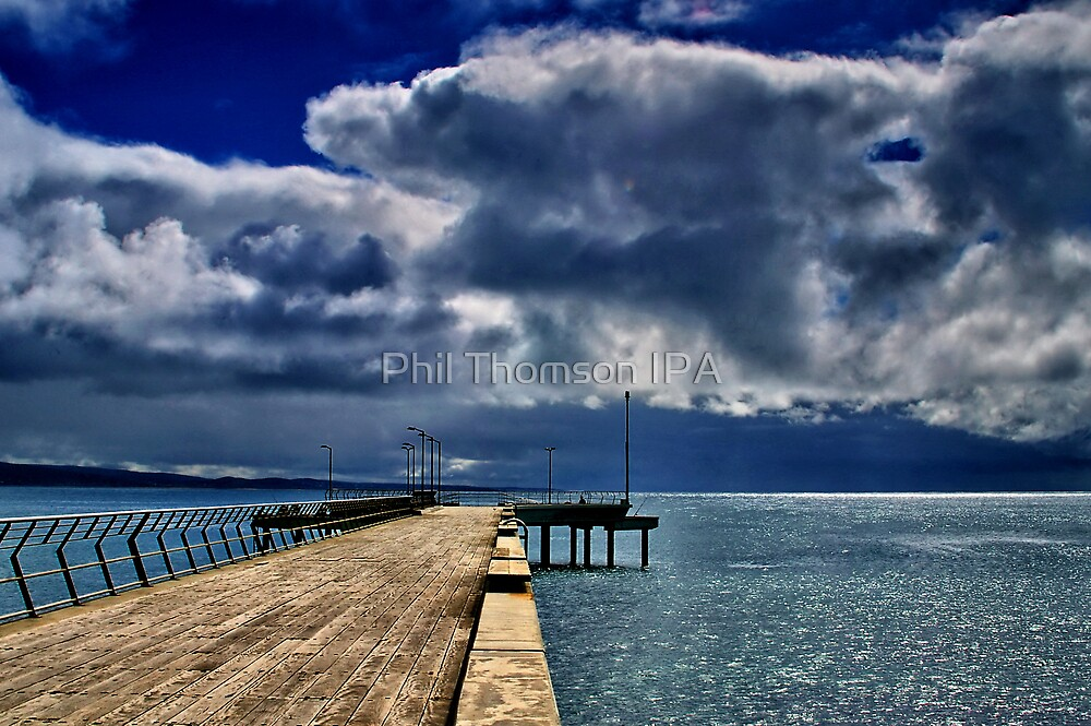 """Rainstorm Over Louititt Bay"" by Phil Thomson IPA"