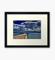 """Rainstorm Over Louititt Bay"" Framed Print"