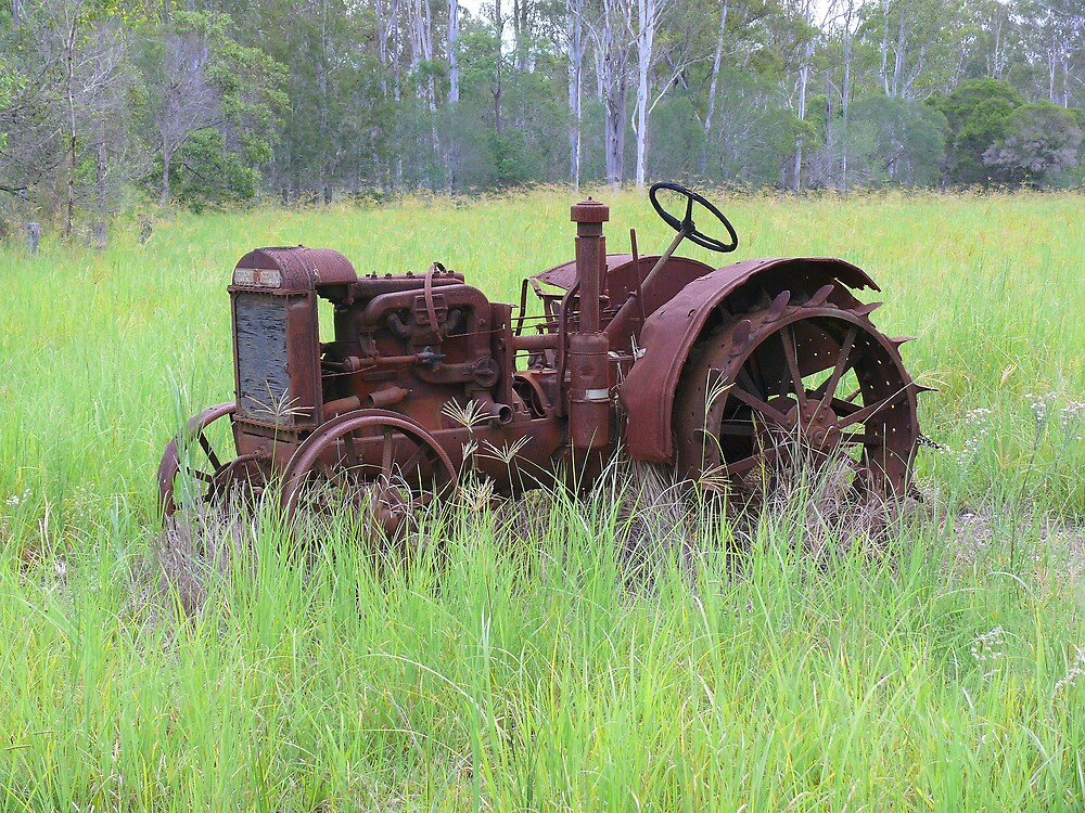 Old Tractor by Keith G. Hawley