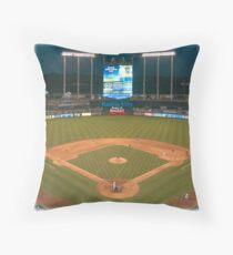 Kansas City Home of Baseball Fever Throw Pillow