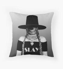 Beyonce Slay Throw Pillow