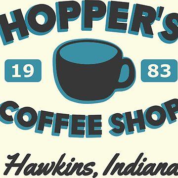 Hopper's Coffee Shop by focodesigns