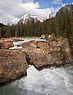 Natural Bridge, Kicking Horse River by Alex Preiss