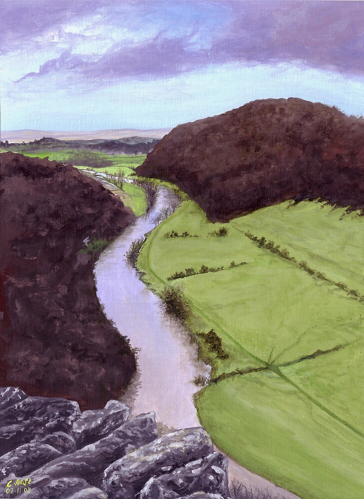 View from Symmonds Yat by Charlotte Rose
