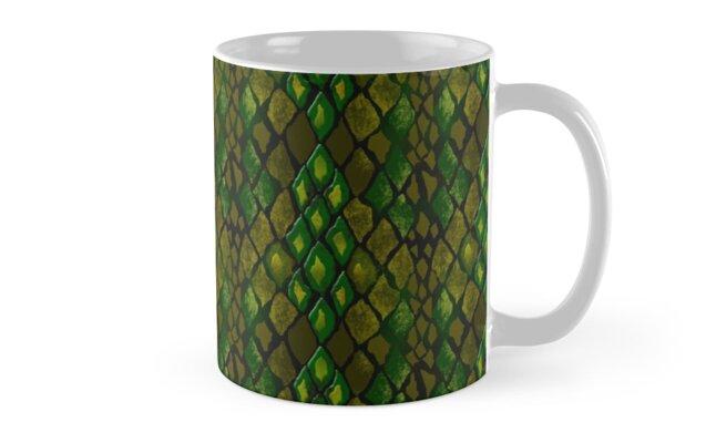 Digital snake pattern.  by fuzzyfox