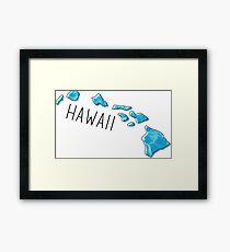 Hawaii Ocean Framed Print