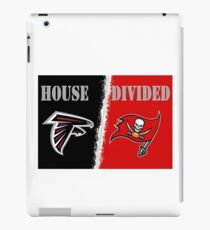 Two Rival Teams In One House iPad Case/Skin
