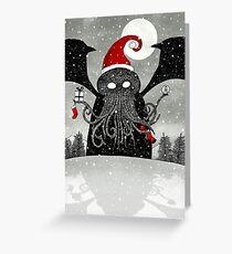 A Cthulhu Christmas Greeting Card