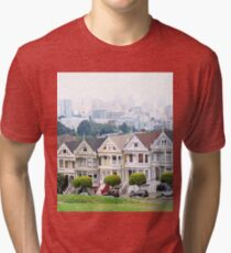 Painted Ladies  Tri-blend T-Shirt