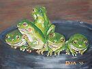 Froggy Friends by Dianne  Ilka
