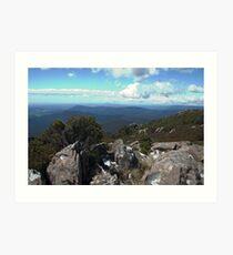 Northeast Tasmania from Mt Arthur Art Print