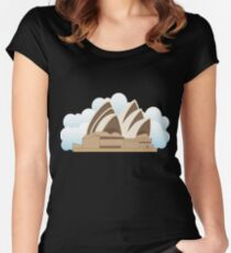Sydney Opera House Women's Fitted Scoop T-Shirt