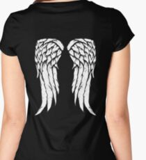 Daryl Dixon Wings - Zombie Women's Fitted Scoop T-Shirt