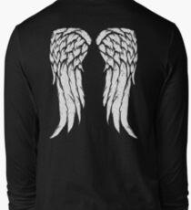 Daryl Dixon Wings - Zombie Long Sleeve T-Shirt